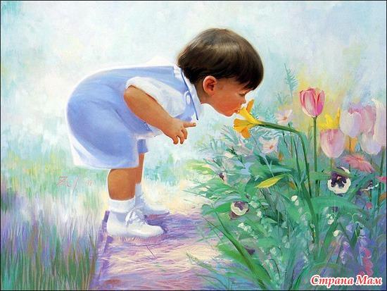 Люди рисующие цветы это