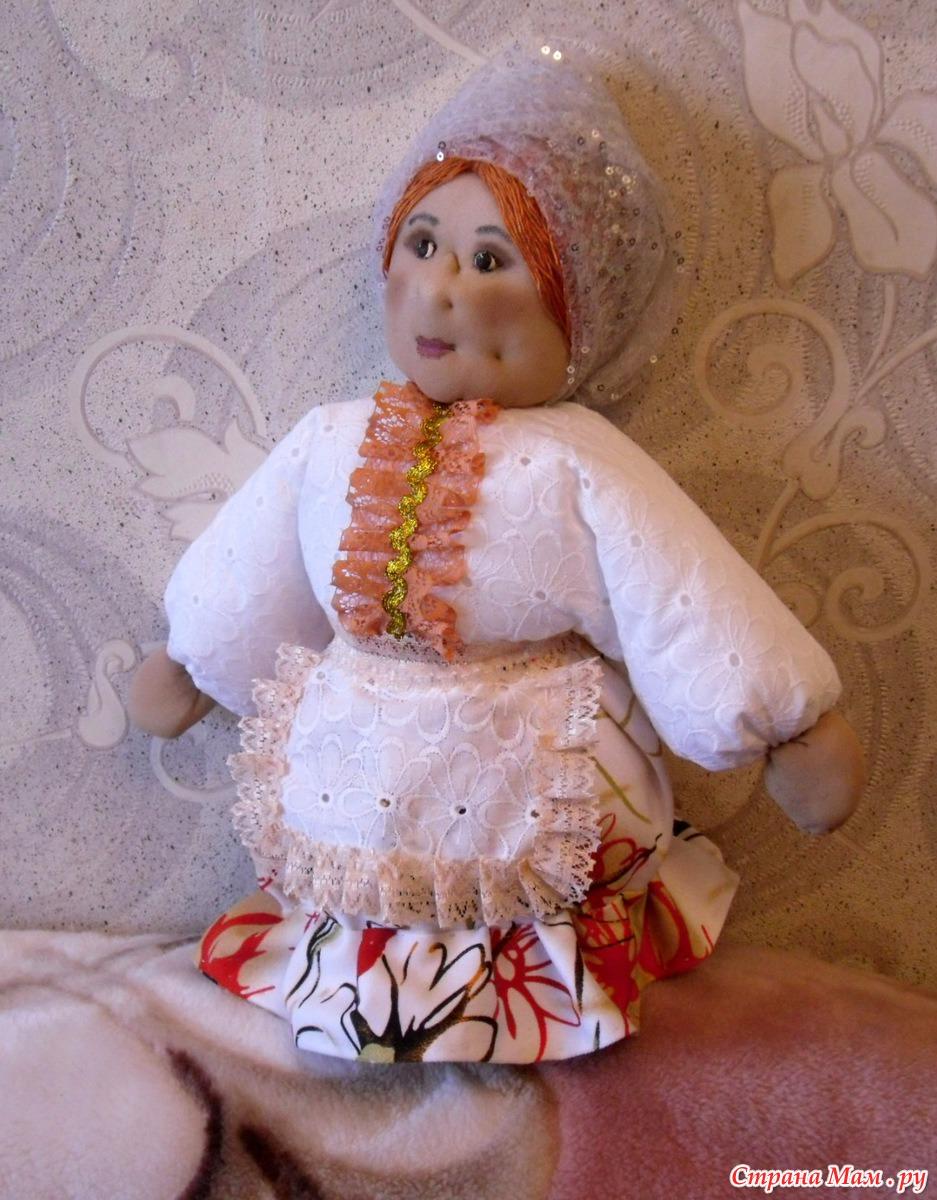Кукла из пластмассовой бутылки своими руками