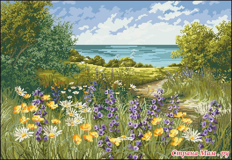 Anchor Цветочные поляны.