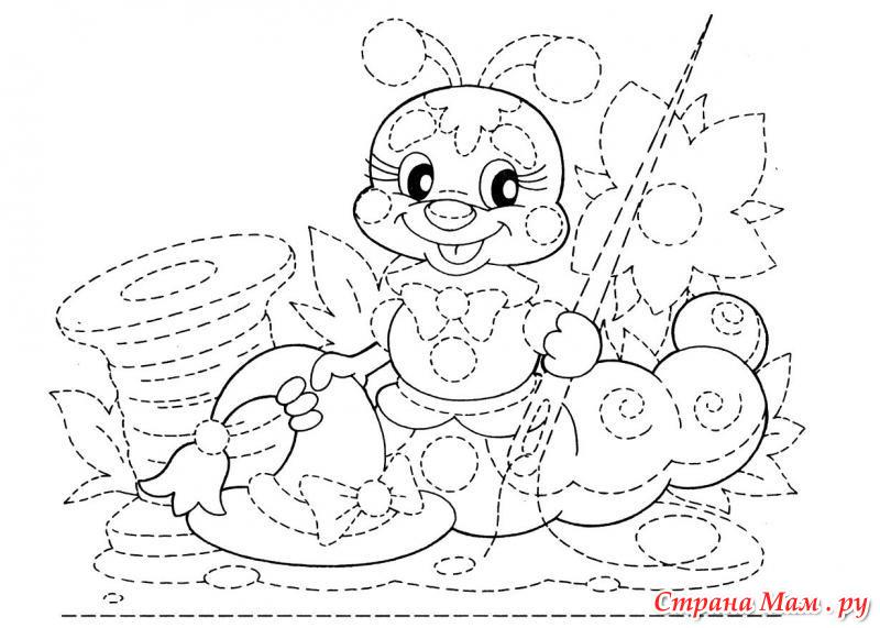 Распечатать раскраски для детей бесплатно по точкам