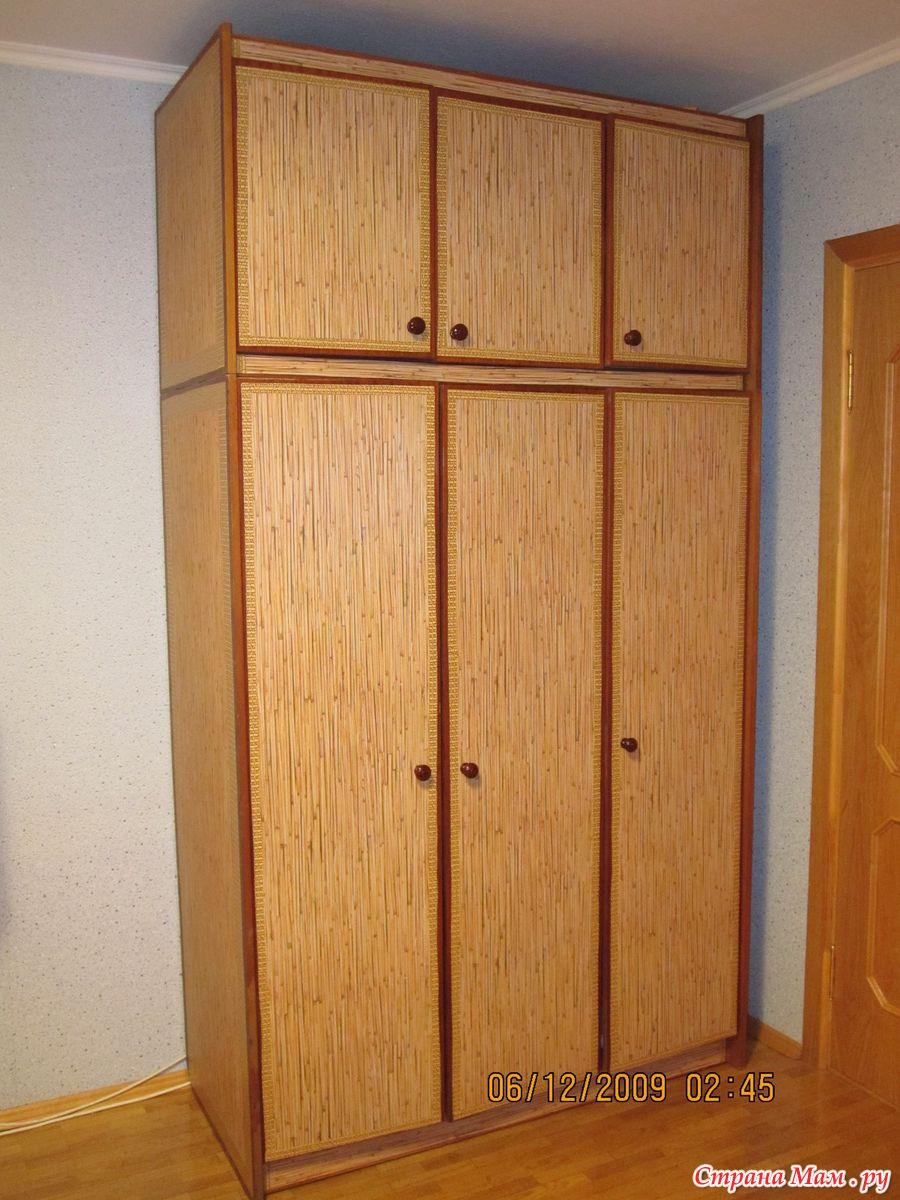 Деревянный шкаф-купе своими руками