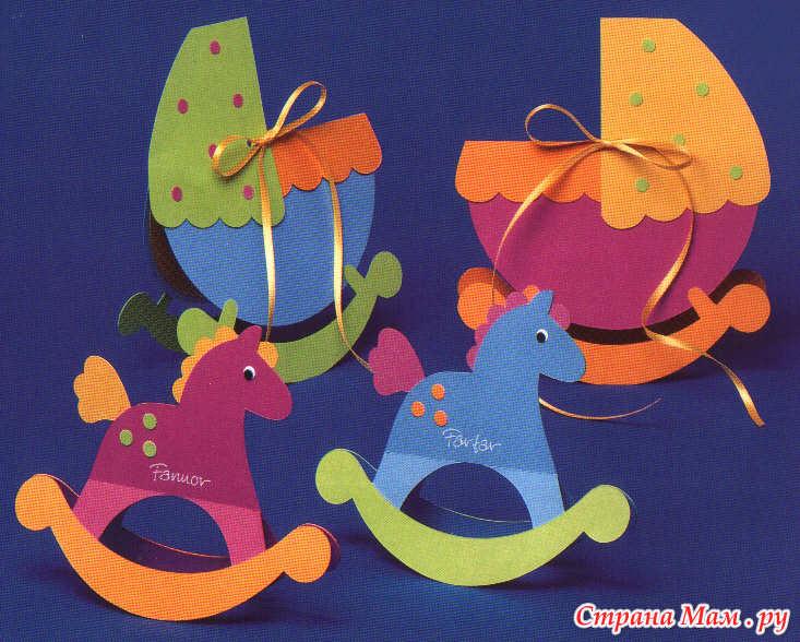 Поделки из картона или цветной бумаги 66