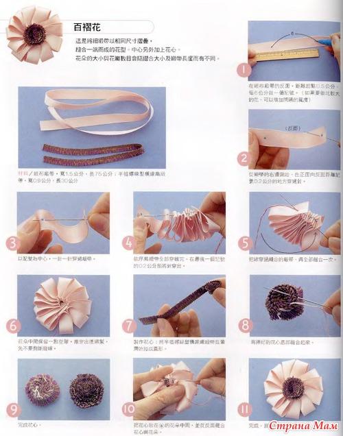 Поделки из ленты своими руками пошаговое