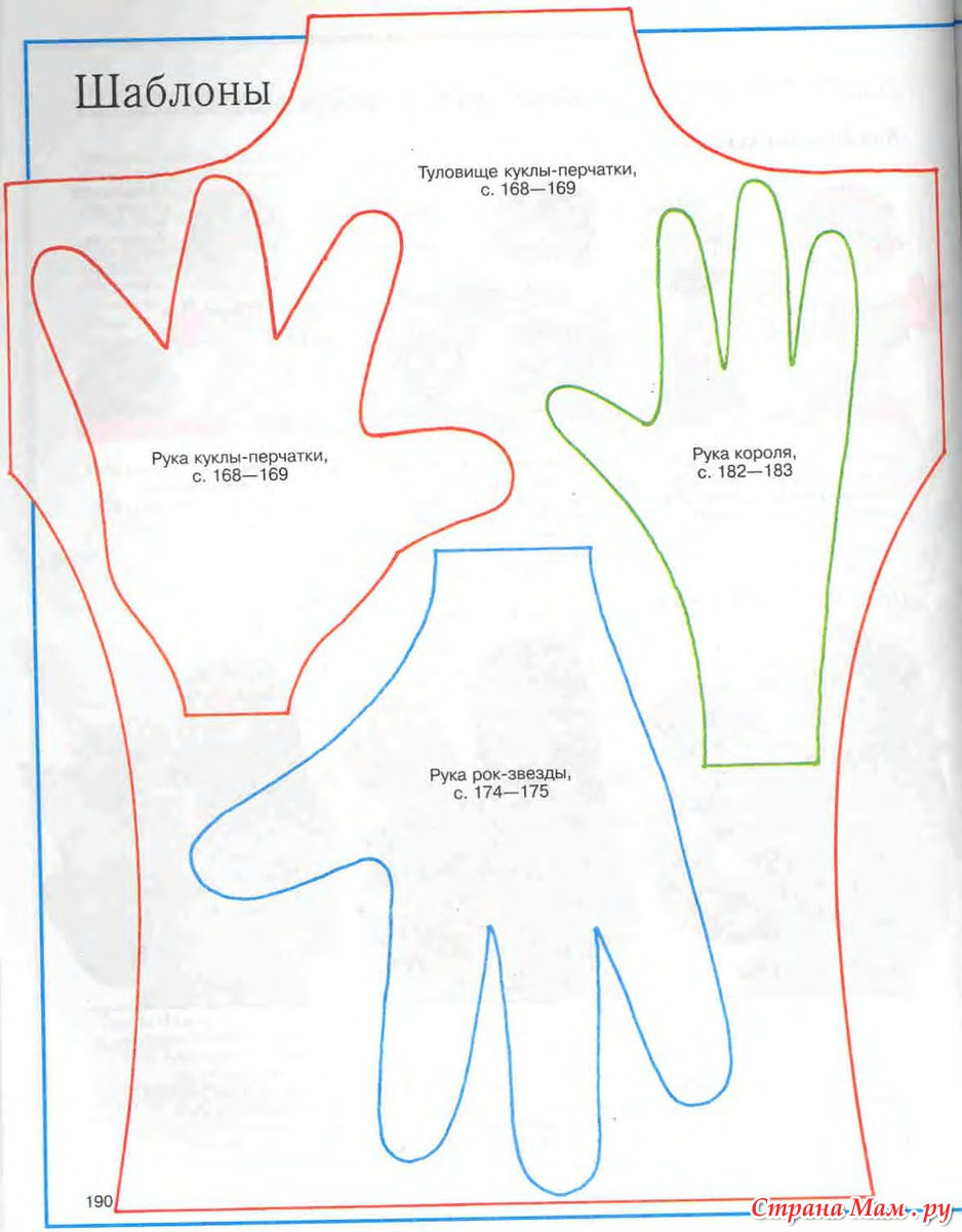 Кукла перчатка своими руками для кукольного театра