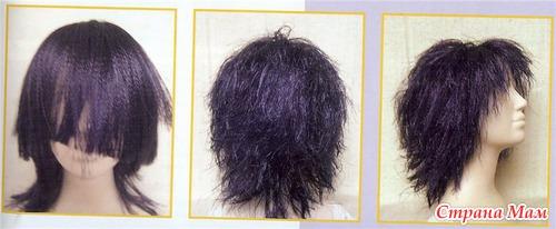 Сделать парики своими руками