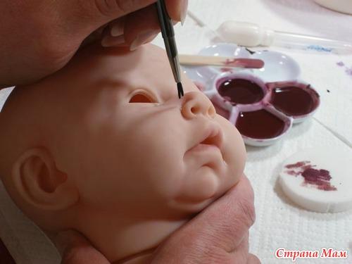 Из чего делают заготовки для кукол реборн 102