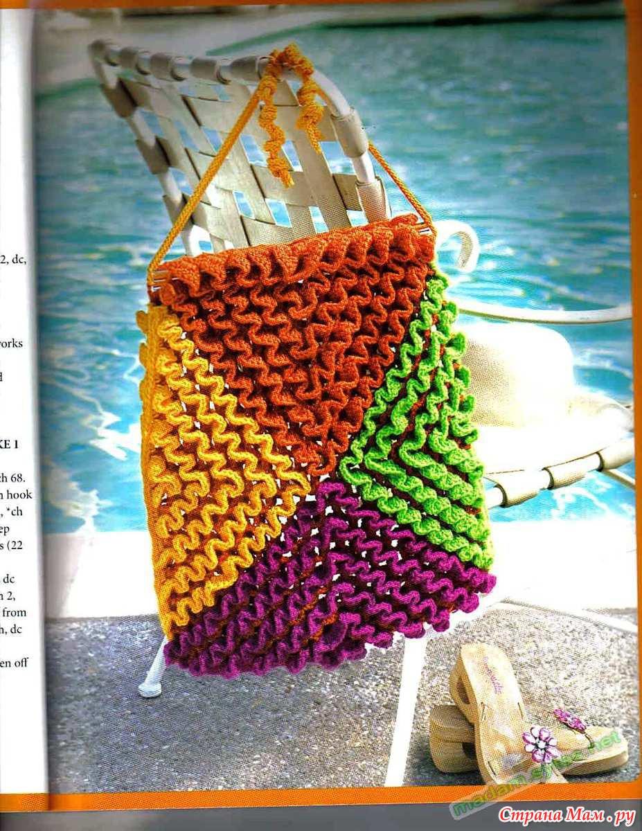 Вязание техника объемного вязания