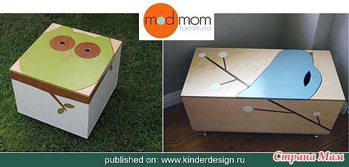 Как сделать ящик из фанеры для игрушек своими руками