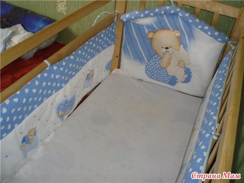 Бортики для детских кроваток своими руками фото