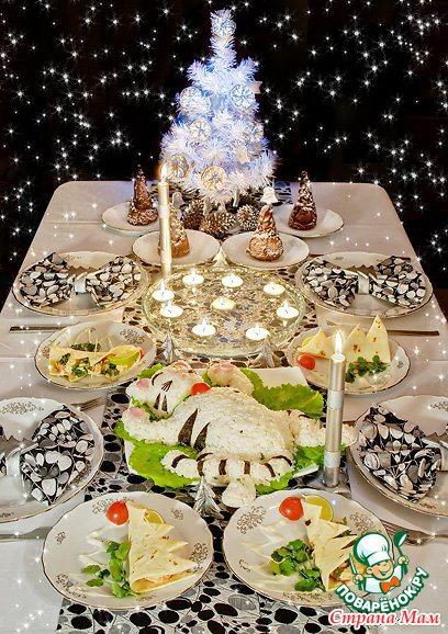 Новогодний стол 2015 года рецепты с фото салаты