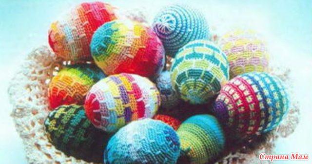 оформления пасхальных яиц