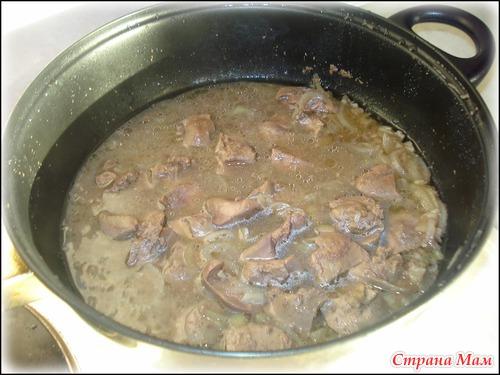 Кальмар в горшочках рецепт с фото