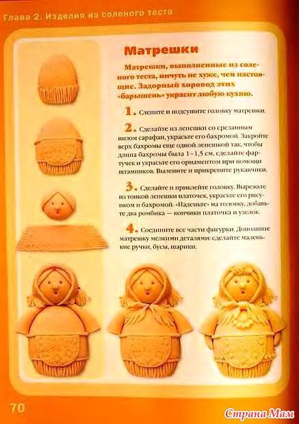 Солёное тесто рецепт для лепки для детей поделки 38