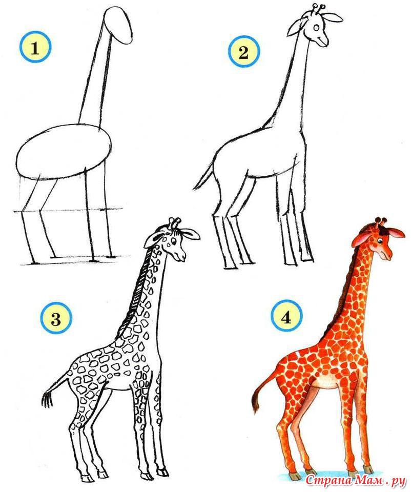 Жираф своими руками пошагово для начинающих