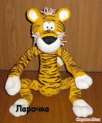 Тигр своими руками игрушка