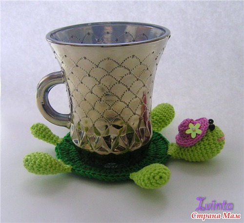 Подставки под чашку или подарок своими руками!!!