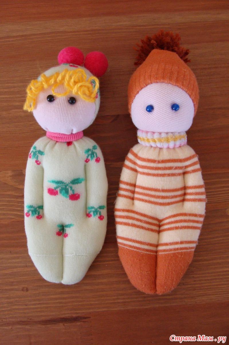 Как сделать из носков куклу своими руками 337