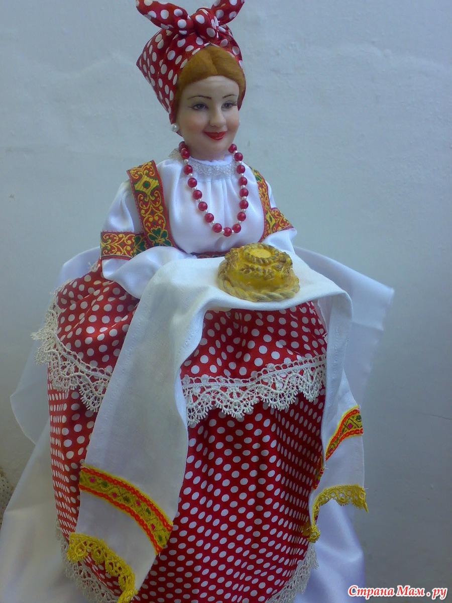 Куклу на самовар своими руками