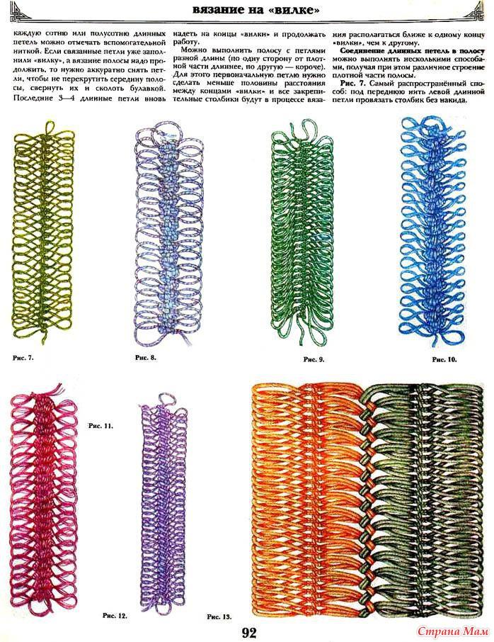 Вязание крючком вазочки схема вязания