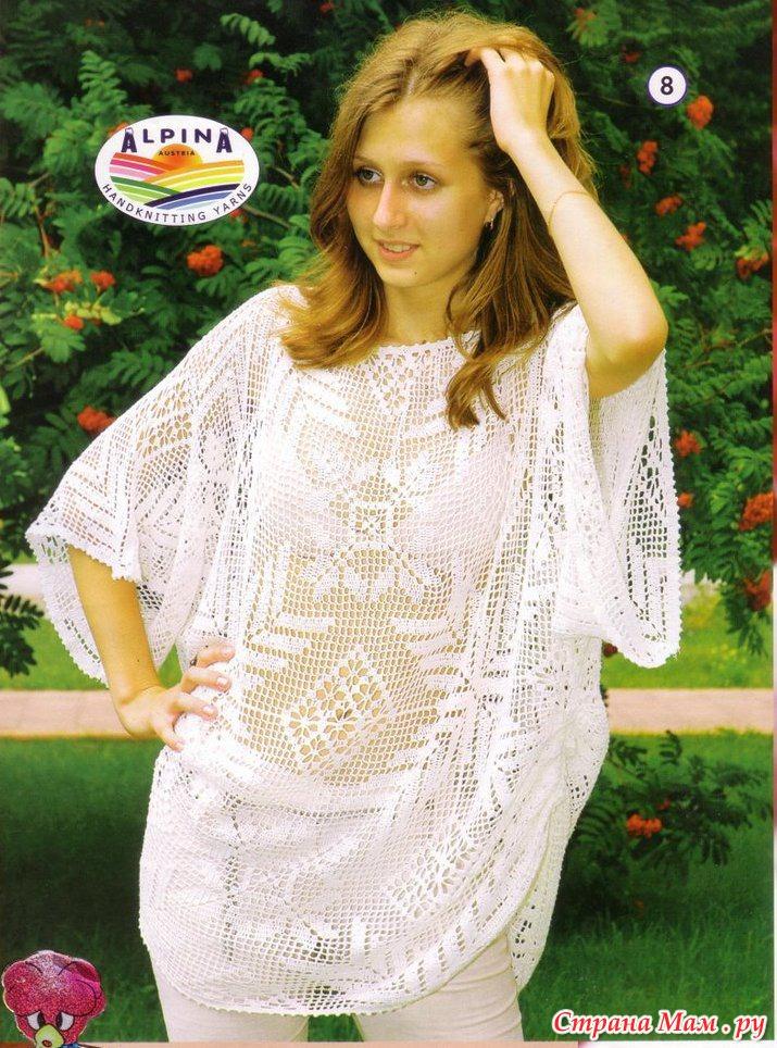 Блузки Фелейного Вязания