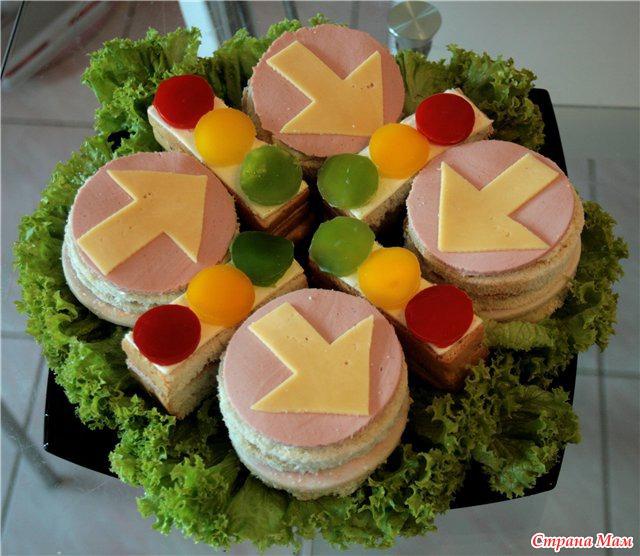Оформление бутерброда картинка