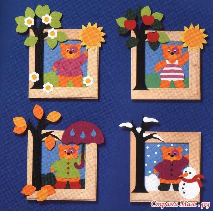 Поделки из картона для детского сада