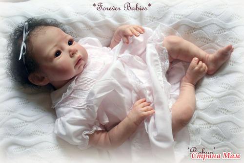 Как делают куклу реборн?
