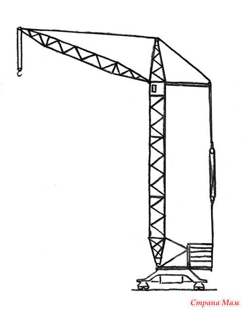 Схемы подъемных кранов