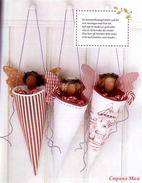 Рождественские тильдБукеты из конфет своими руками с