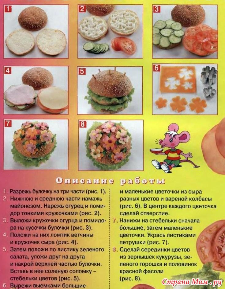 Детские простые рецепты фото