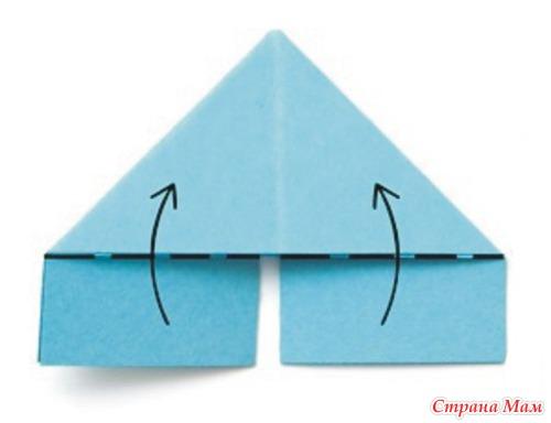 Как сделать модульные треугольники видео