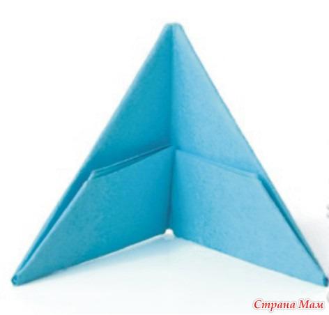 познакомить с делением квадрата на 4 равные части