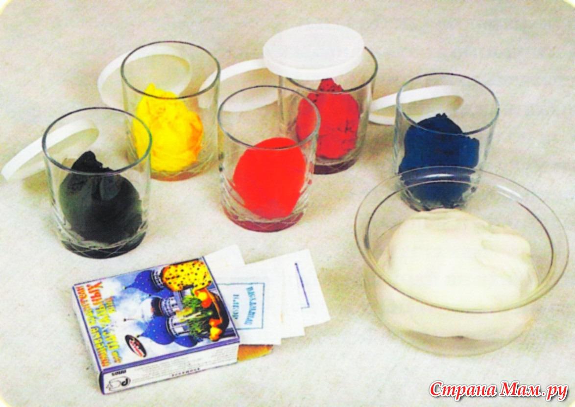 Как сделать солёное тесто для лепки цветное