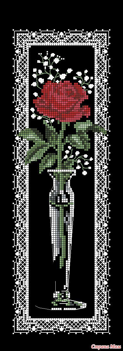 Красное и черное в вышивке 144
