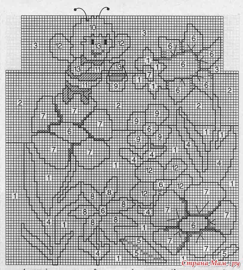Василёк из бумаги своими руками схемы шаблоны 49