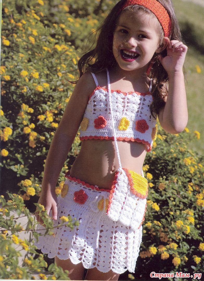 Вязание крючком на девочек 5-6 лет. вязать спицами платье для девочки до года.