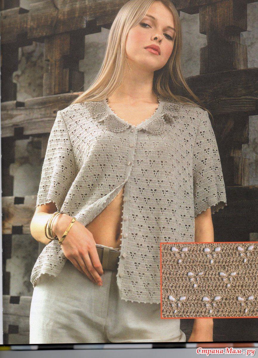 Вязание из льна для женщин 150