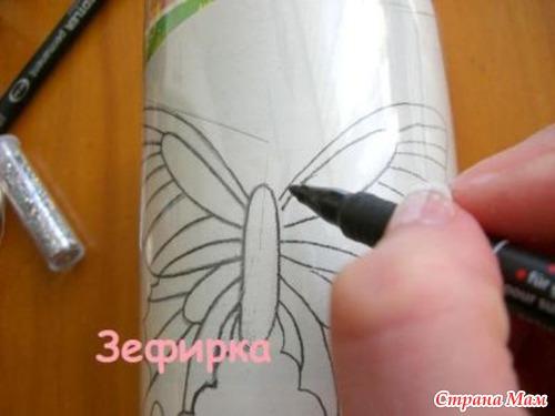 Бабочки из бутылки - Страна Мам