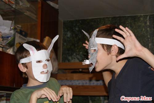 Как сделать смешную маску своими руками 24