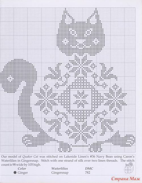 Меланж схема для вышивки