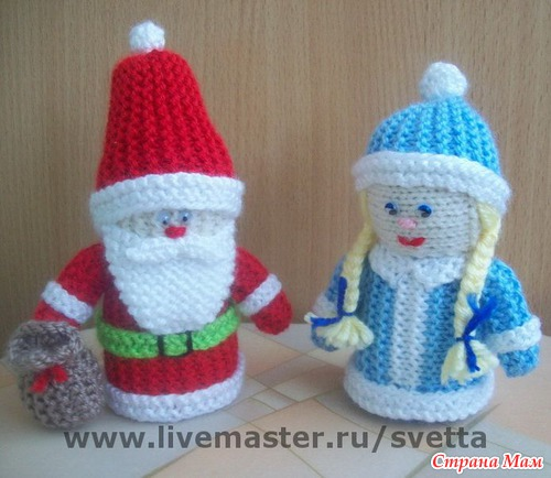 Связать дед мороз своими руками