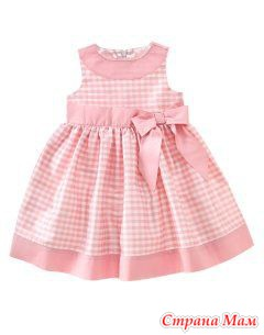 Платья детские шьем сами