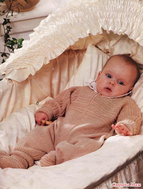 Верена вязание для новорожденных 342
