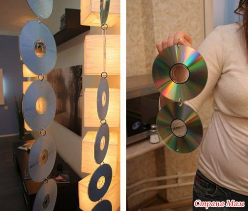 Шторка из дисков
