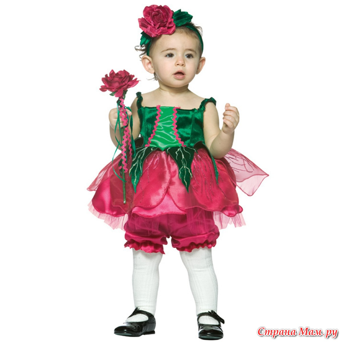 Цветочные костюмы своими руками