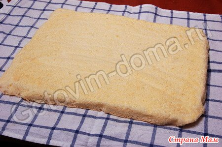 бисквит сливках рецепт фото