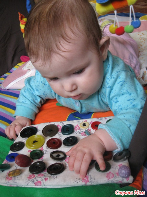 Развивающие игры для детей своими руками до года