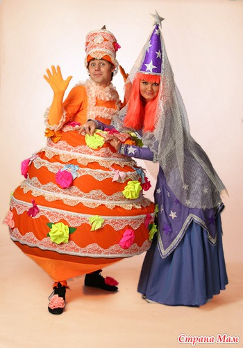 Костюм торта своими руками фото 18