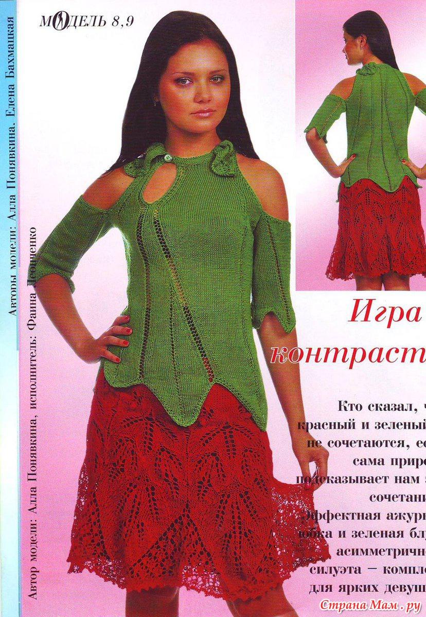 Журналы по вязанию очарование 2014