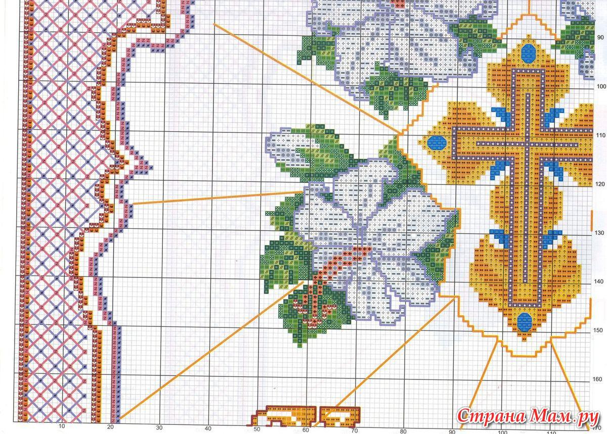 Вышивка крестом. Авторские схемы вышивки крестом 67